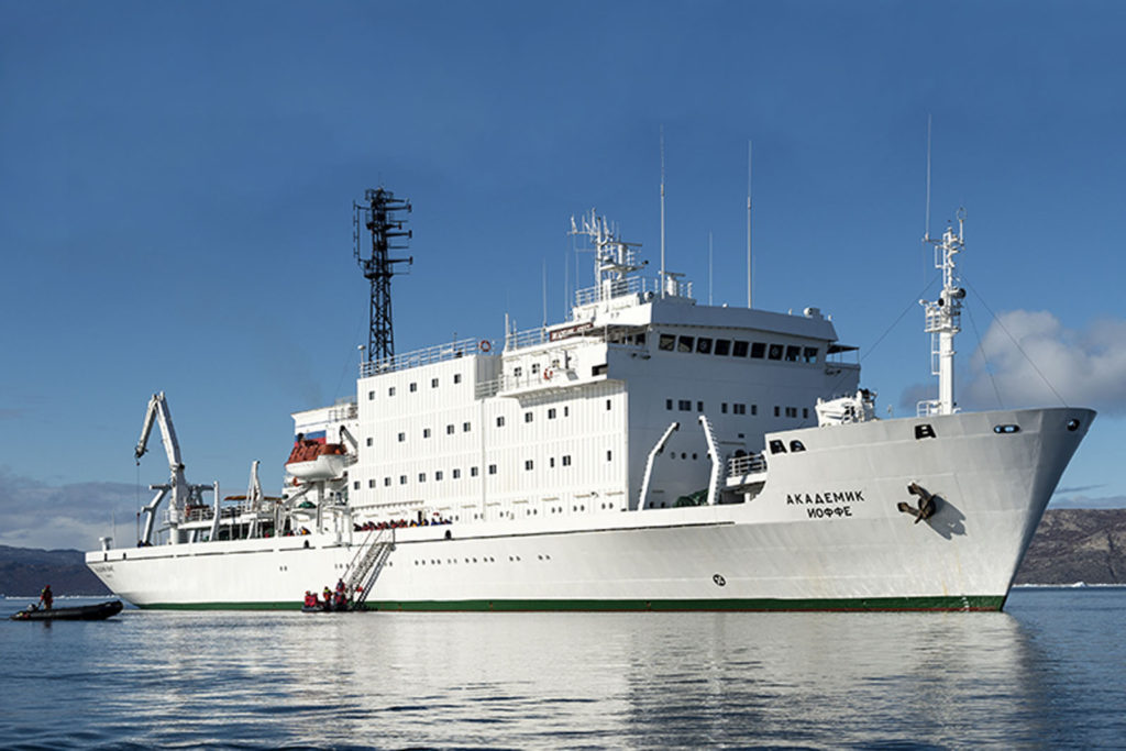 Ioffe ship with Cheesemans' Ecology Safaris